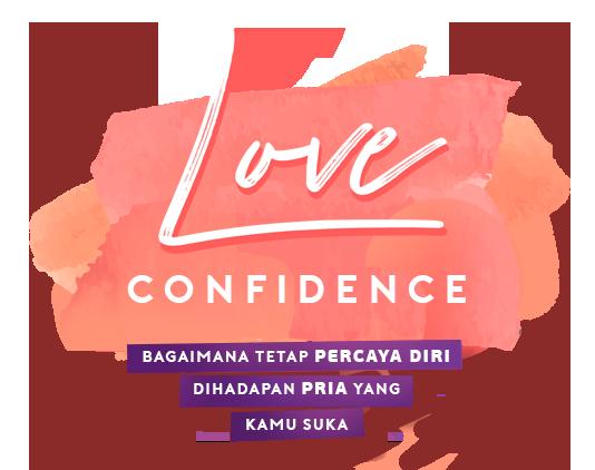 a logo love confidence